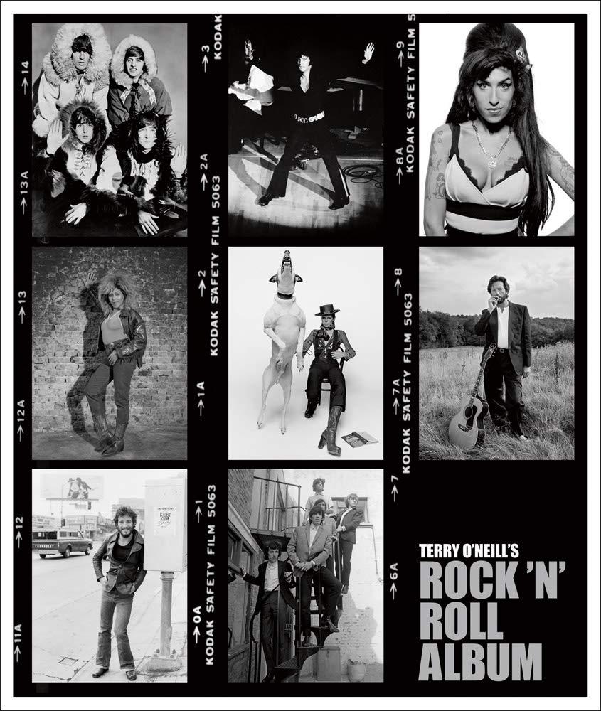 Livro Terry Oneill Rock N Roll