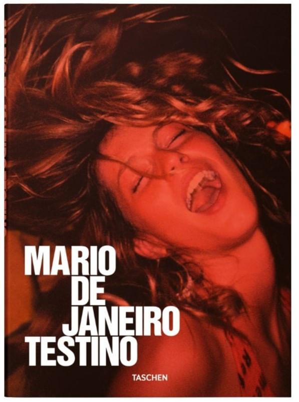 Livro Mario de Janeiro Testino