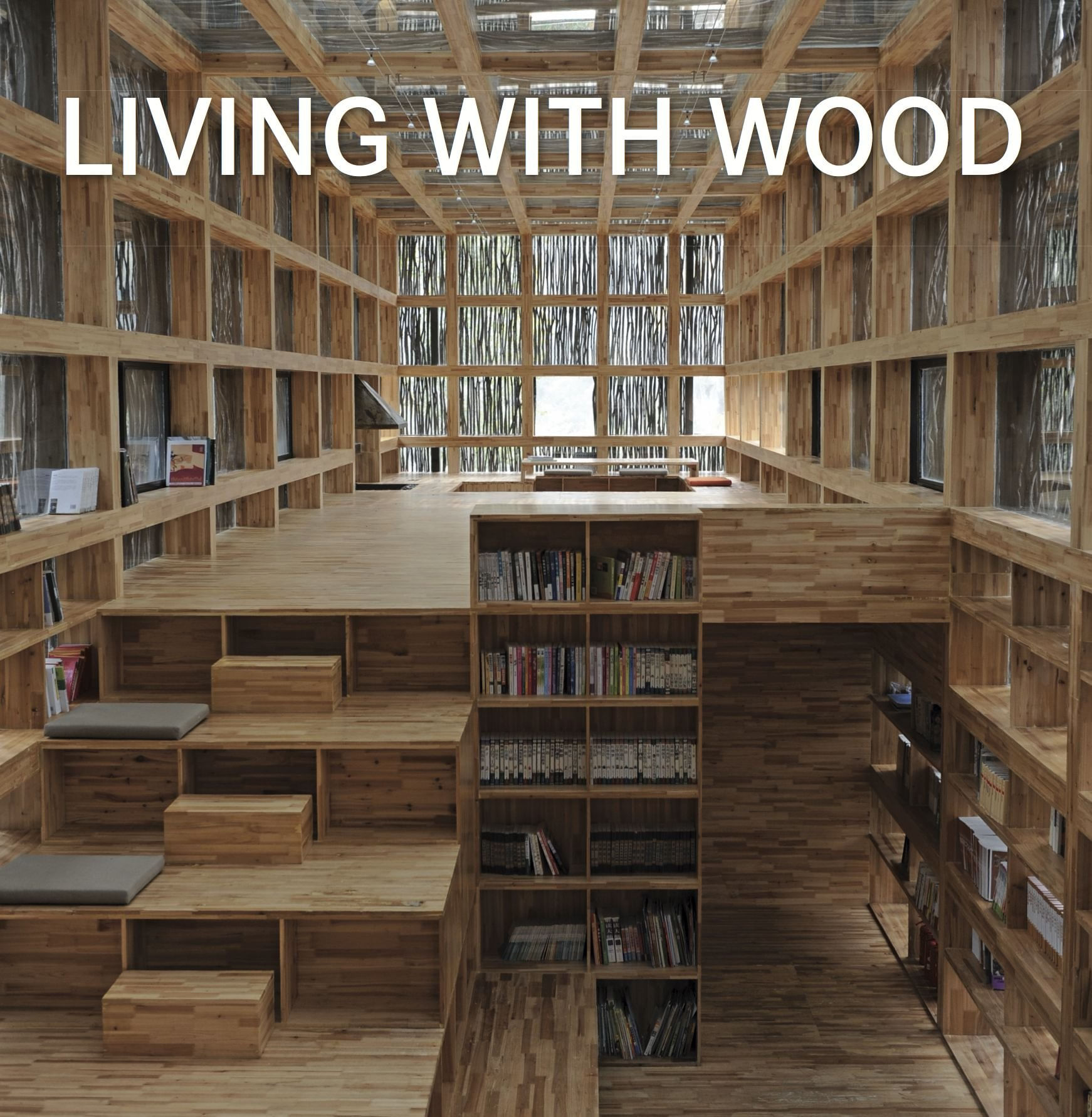 livro Living With Wood