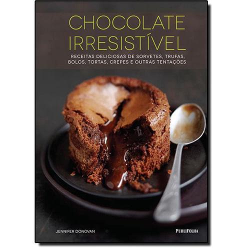 Livro Chocolate Irresistível