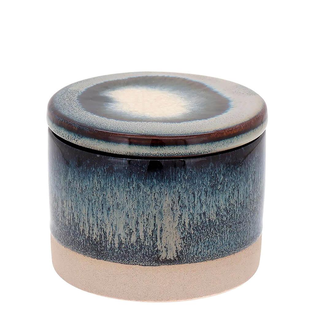 Potiche Cayo Cerâmica Azul