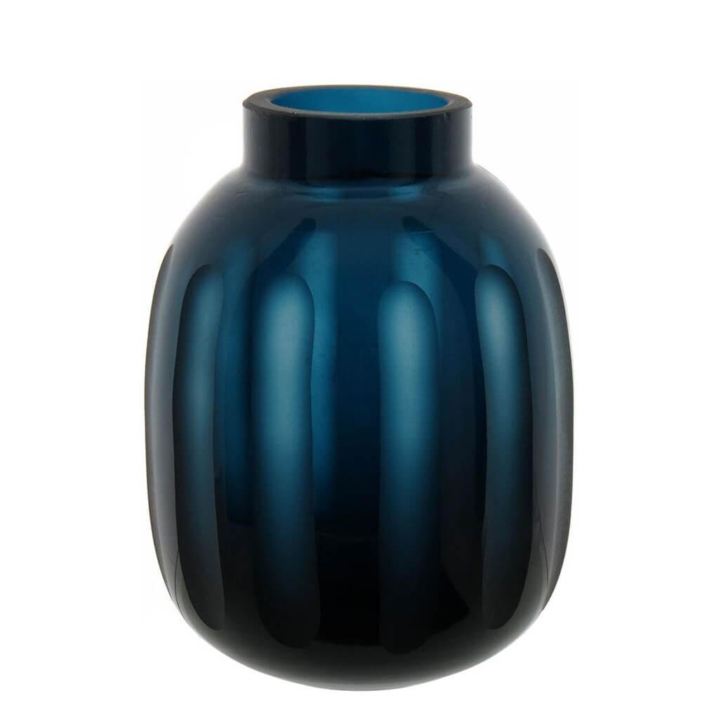 Vaso Masmerize Vidro Azul