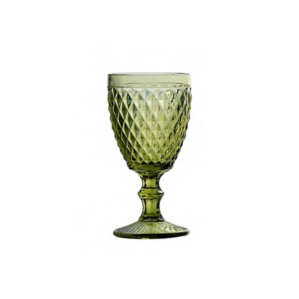 Taça Água Abacaxi Verde Com 6