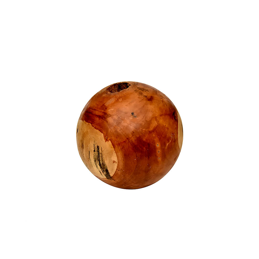Bola Madeira Decorativa P