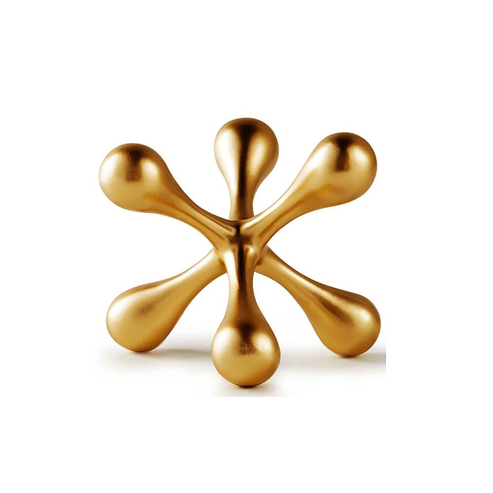 Escultura-em-Poliresina-Dourada