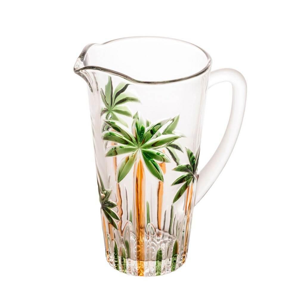 Jarra-Palm-Tree-Handpaint